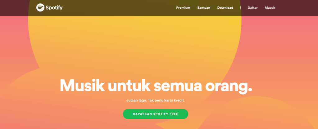 go to spotify website when connected to vpn