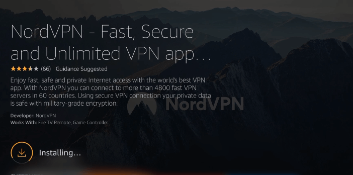 install NordVPN on Firestick