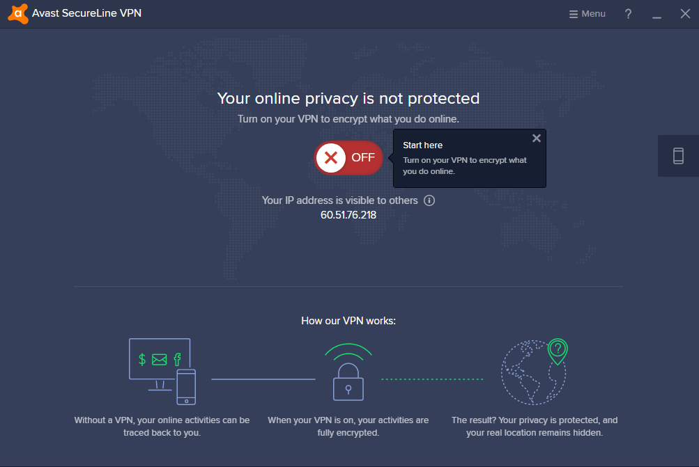 launch avast secureline vpn
